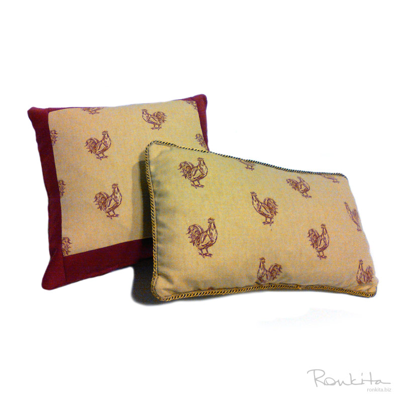 Custom Throw Pillow Cover Ronkita Custom Sewing and Design