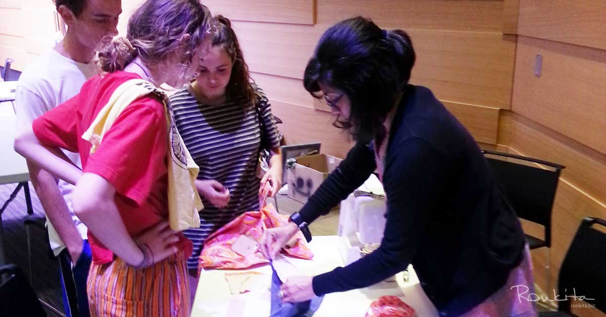 Fixing, Altering, And Refashioning Clothing At Swap Event