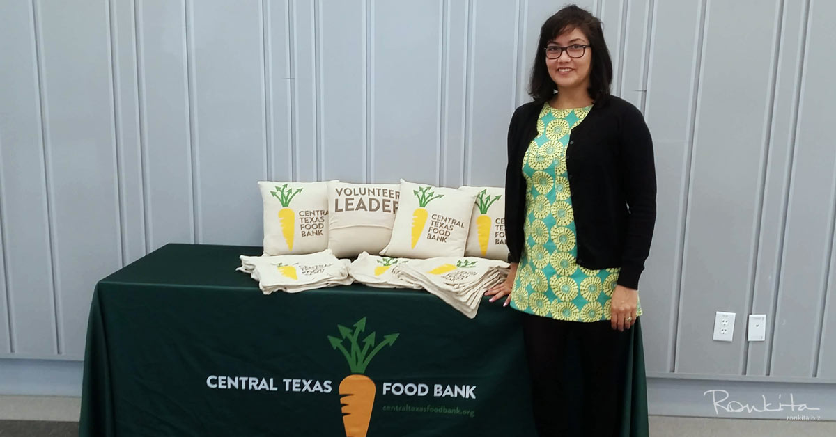 Upcycled T-Shirts for Central Texas Food Bank